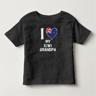 I Heart My Kiwi Grandpa Toddler T-shirt
