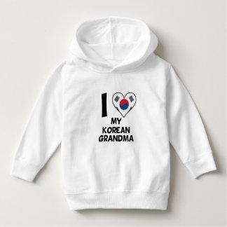 I Heart My Korean Grandma Hoodie