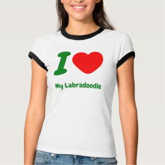 I Heart My Labradoodle Tshirt