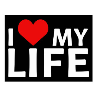 I Heart My Life Collection Post Card