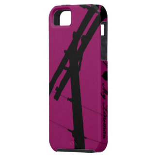 I (Heart) My Lineman iPhone 5 Cover-Lipstick iPhone SE/5/5s Case