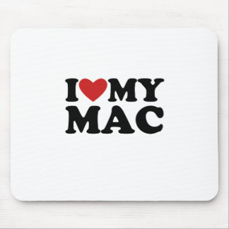 I heart my mac mouse pad