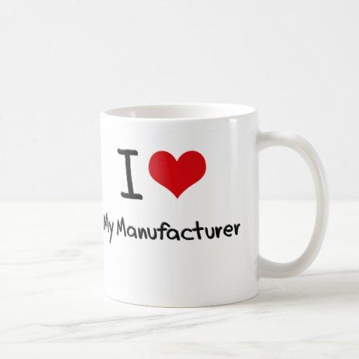 I heart My Manufacturer Mugs