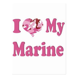 I Heart My Marine Postcards