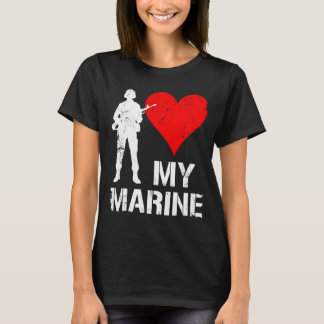 I Heart My Marine T-Shirt