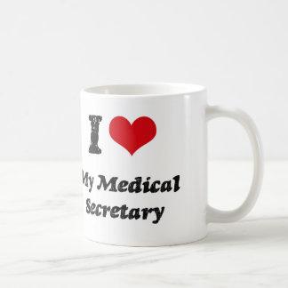 I heart My Medical Secretary Coffee Mug