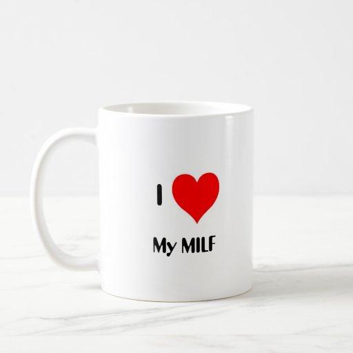 I Heart My MILF Classic White Coffee Mug