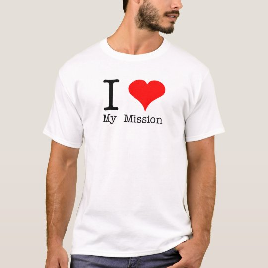 I Heart My Mission LDS T-Shirt