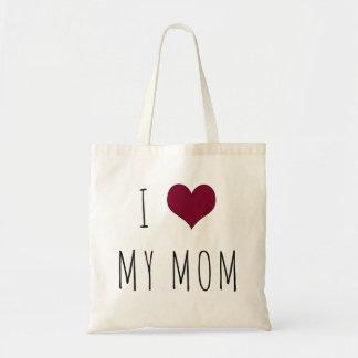 I Heart My Mom Tote Bag