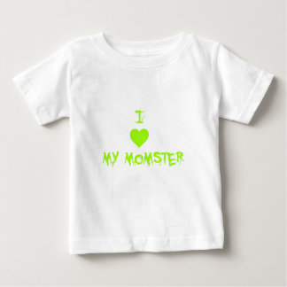 I Heart My Momster Funny Halloween T-Shirt