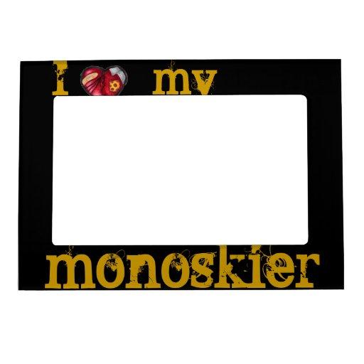 I heart my Monoskier Magnetic Frame