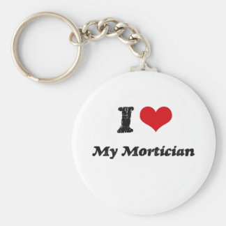 I heart My Mortician Key Chains