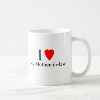 I Heart my mother in law Classic White Coffee Mug
