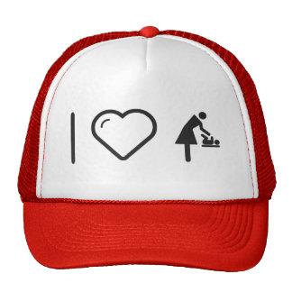I Heart My Mothers Trucker Hat