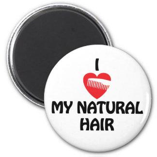 I heart my natural hair magnet