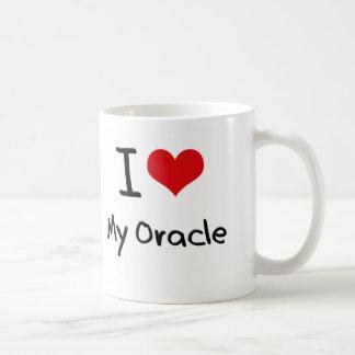 I heart My Oracle Classic White Coffee Mug