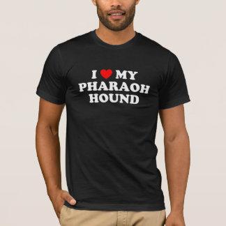 I Heart My Pharaoh Hound Dark T-Shirt