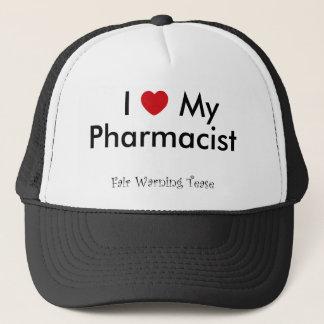 I Heart My Pharmacist Trucker Hat