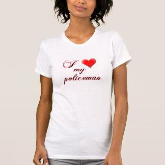 "I ""heart"" My Policeman T-Shirt"