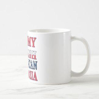 I Heart My Polish American Dziadzia Mugs