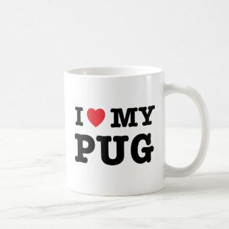 I Heart My Pug Coffee Mug