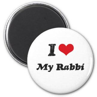 I heart My Rabbi Magnets