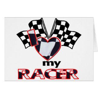 I Heart My Racer Card