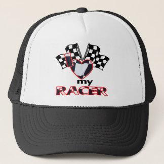 I Heart My Racer Trucker Hat