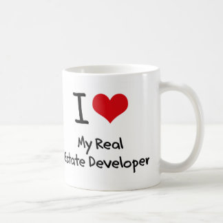 I heart My Real Estate Developer Classic White Coffee Mug