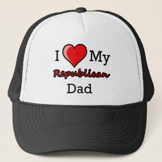 I Heart My Republican Dad Hat