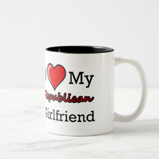 I Heart My Republican Girlfriend Mug