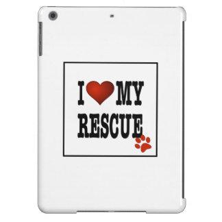 I Heart My Rescue iPad Air Cases