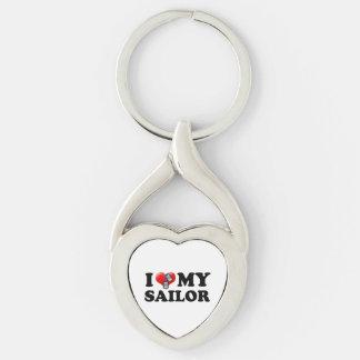 I (Heart) My Sailor Keychain