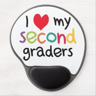 I Heart My Second Graders Teacher Love Gel Mousepads