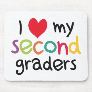 I Heart My Second Graders Teacher Love Mousepads