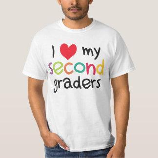 I Heart My Second Graders Teacher Love T Shirt