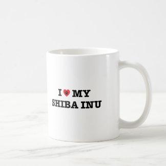 I Heart My Shiba Inu Coffee Mug
