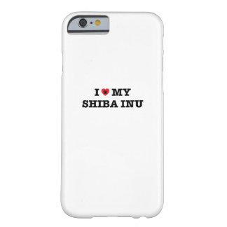 I Heart My Shiba Inu iPhone Case