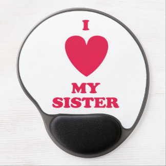 I Heart My Sister Gel Mouse Pads