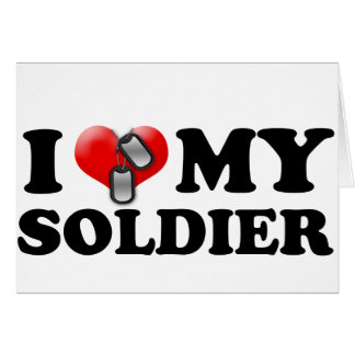I (Heart) My Soldier Card