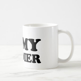 I (Heart) My Soldier Classic White Coffee Mug