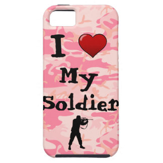 I Heart My Soldier iPhone 5 Case