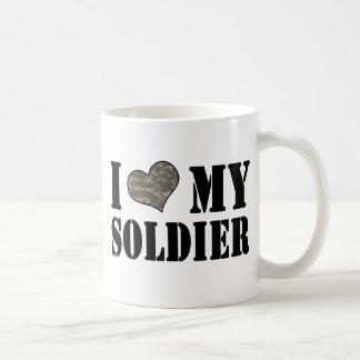 I Heart My Soldier Coffee Mug