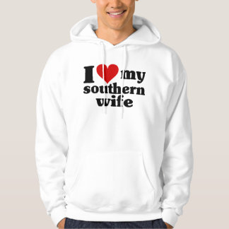I Heart My Southern Wife Hoodie