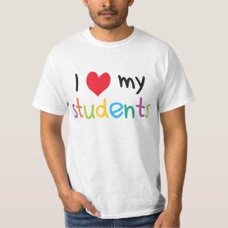 I Heart My Students Teacher Love T Shirt