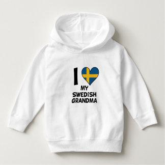I Heart My Swedish Grandma Hoodie