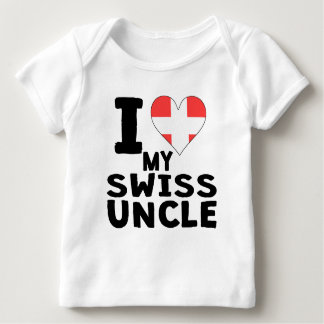 I Heart My Swiss Uncle T-shirt