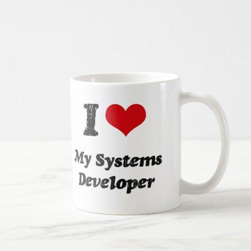 I heart My Systems Developer Classic White Coffee Mug