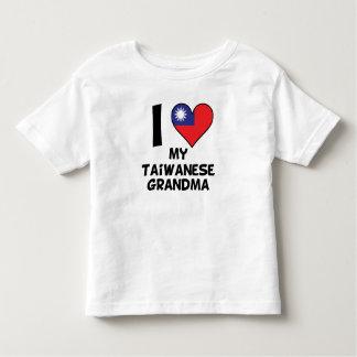 I Heart My Taiwanese Grandma Toddler T-shirt
