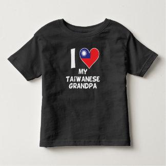 I Heart My Taiwanese Grandpa Toddler T-shirt